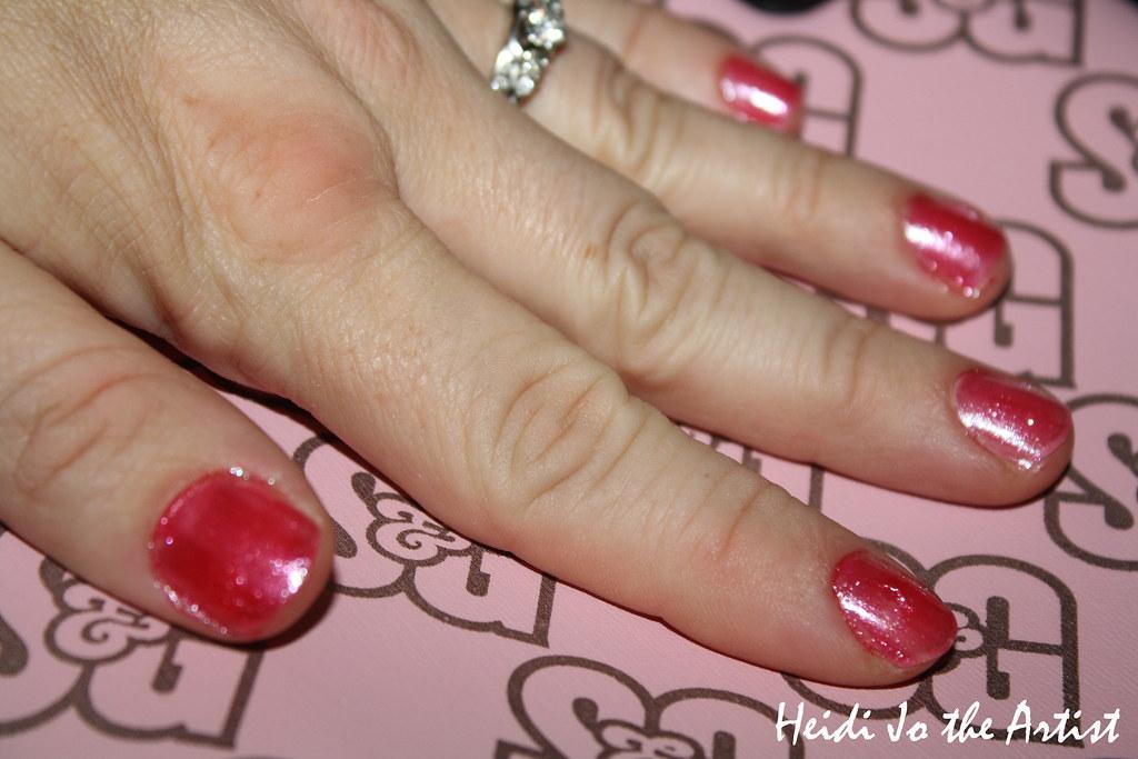 Mama's Pink Nails