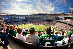 Put a Win on It! (Jeff_B.) Tags: life newyork football newjersey stadium jets nfl meadowlands fisheye met sanchez chargers week7 2011 nyjets revis norvturner rexryan
