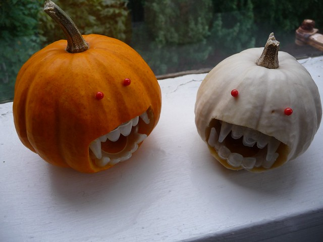 Vampire Mini Pumpkins