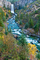 Tumalo-3 (Scott Schauer) Tags: autumn oregon bend fallcolors waterfalls aspen deschutesnationalforest tumalofalls tumalocreek