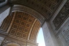 Arch De Triumph (chrischarlescook) Tags: world life summer paris france october europe sunny viewpoint montparnasse parisian