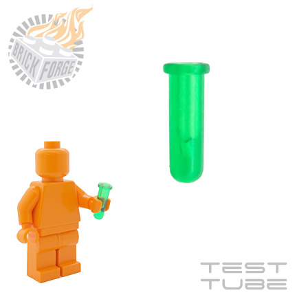 Test Tube - Trans Green