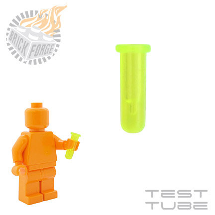 Test Tube - Trans Neon Green