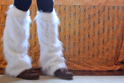 Furry Legwarmers
