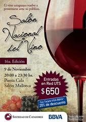Uruguay: Salón Nacional del Vino