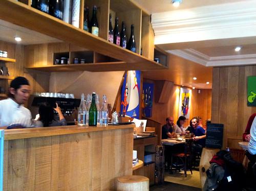 Interior, Breizh Cafe