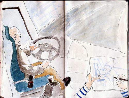 La Roncalesa ( Línea de Bus Donostia-Iruña )