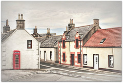 Rrring Rrring (~ paddypix ~) Tags: street houses red scotland village phonebox moray findochty fishingvillage