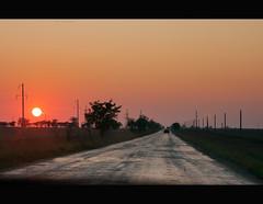 Road to Kazantip (Fake Truth) Tags: road travel sunset sky sun nature canon way landscape freedom highway romantic asphalt crimea kazantip z17