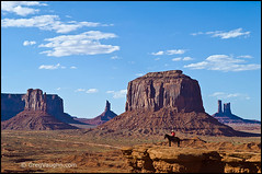 Monument Valley, Arizona (Greg Vaughn) Tags: travel arizona horse usa man southwest west classic horizontal america landscape utah us sandstone desert native indian famous scenic posing landmark icon erosion american western geology navajo mon