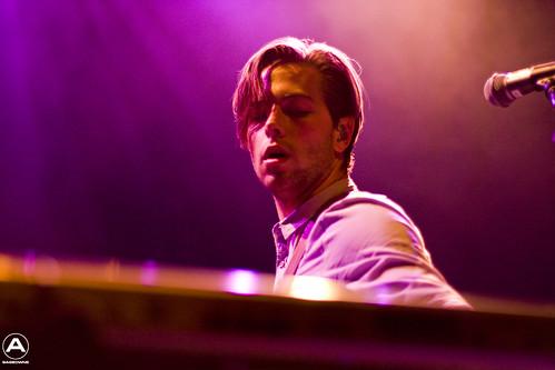 Thom Powers on the keys