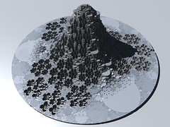 Devil's tower (fdecomite) Tags: packing math fractal gasket povray cirlce apollonian