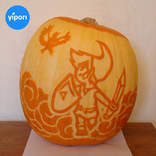 Nintendo pumpkin, Zelda pumpkin
