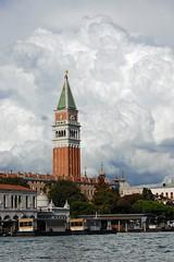 (Franco Coluzzi) Tags: venice clouds nuvole belltower campanile venezia sanmarco stmark the4elements