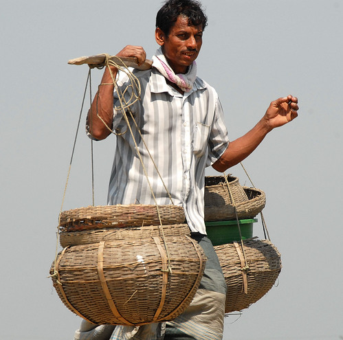 The bountiful harvest of a fish farmer, Bangladesh. Photo by WorldFish, 2007