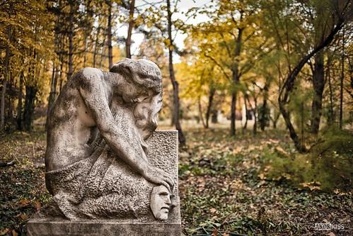 Fotózás a temetőben