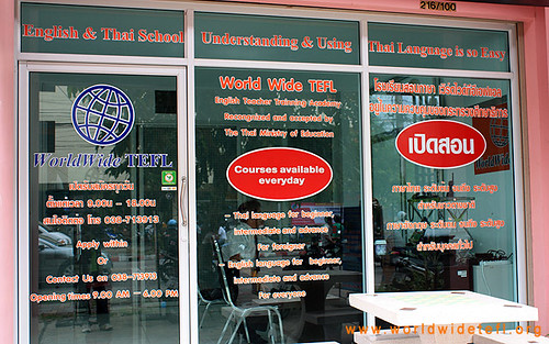 WorldWide TEFL Pattaya