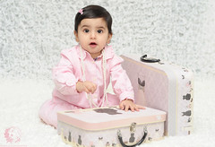 "Baby girl ""N"" (Rawan Mohammad ..) Tags: old pink boy baby cute girl kids photography kid nikon photographer princess photos 7 australia brisbane mohammed newborn saudi arabia bags months tamron mohammad shes 2010 rn   rawan             d300s rnona     almuteeb"