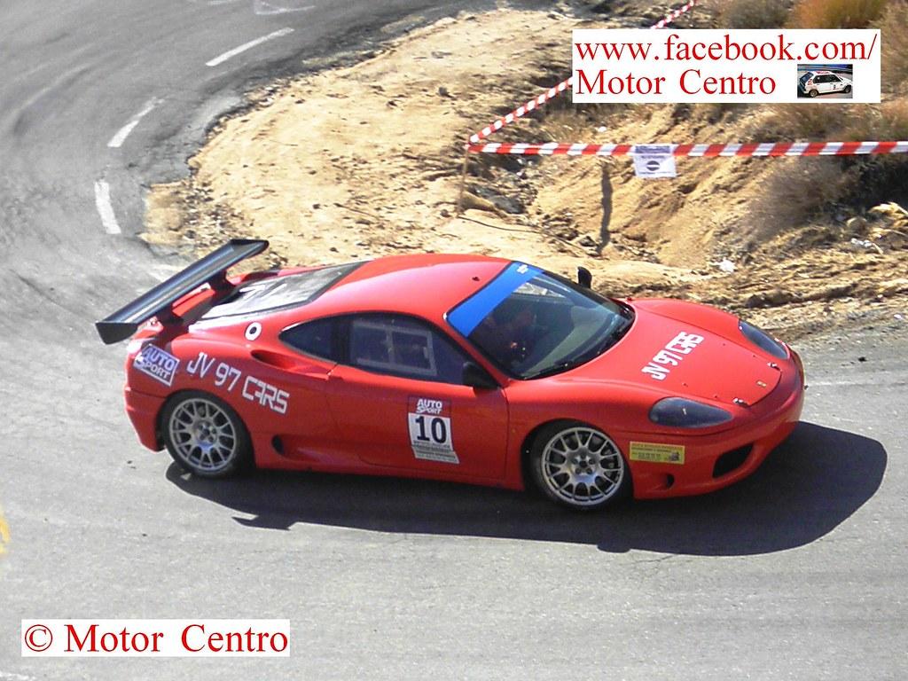 Javier Jiménez reapareció con un Ferrari 360