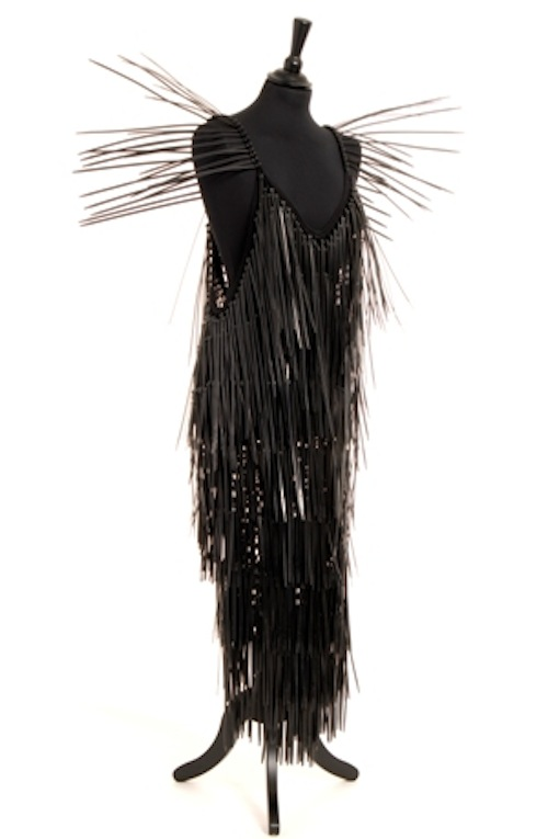 Walter Raes Avant-Garbage Isabella Blow Evening Gown