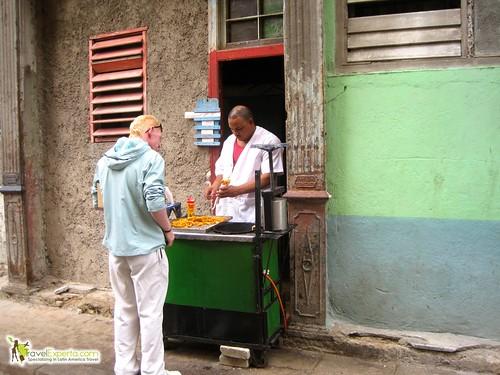 Food Vendor Havana Vieja Cuba