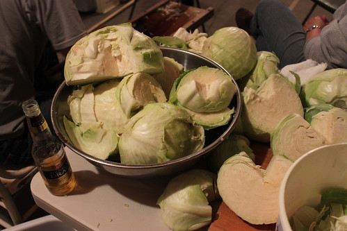 cabbage and beer