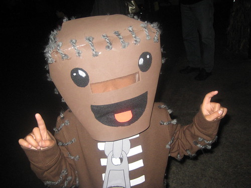 Little Big Planet Sackboy Halloween Costume