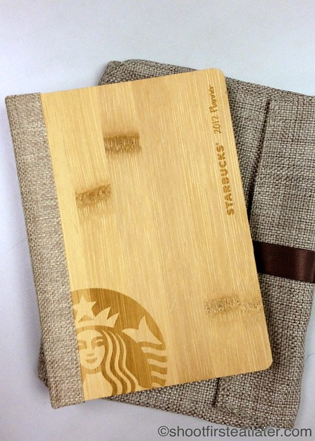 Starbucks 2012 Planner in Bamboo