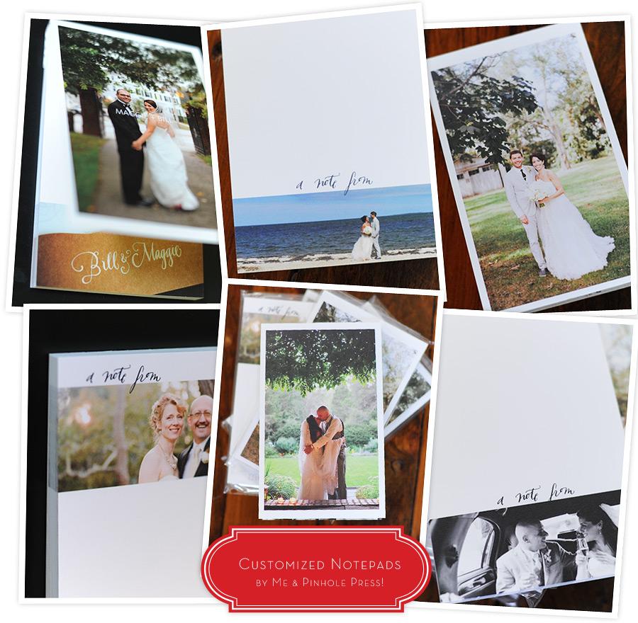 Notepads by Pinhole Press