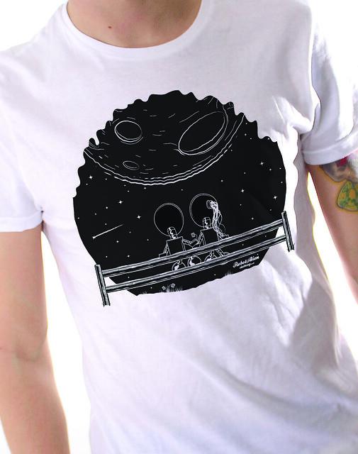 Moon T-shirt design