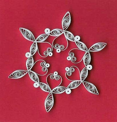 Quilled Snowflake Tutorial