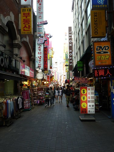 Myeong-dong area