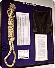 Hangman's Noose and Hood (trailerparkbarbie) Tags: prison hanging noose hangmansmask capitolpunishment moundsvilleprison wvpicnik