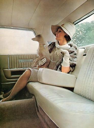 1964 Lincoln Continental Sedan Interior   by coconv