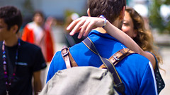 K+A (Max Braun) Tags: sanfrancisco california blue usa love back kiss hand arm japantown tagebild jpopsummitfestival