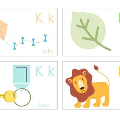 Cutest Alphabet Flashcards Free Printable