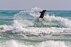 SPLASH RAMI SURF I FUNAI (zagor64.) Tags: sea mer water azul agua eau surf blu bleu acqua colori rami sanbenedettodeltronto grottammare zagor64