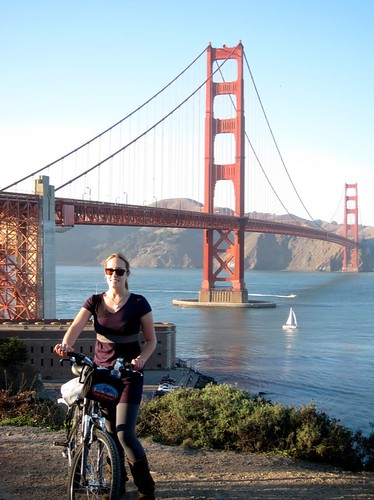 Amanda Rae Was Here The Golden Gate Bridge By Bicycle