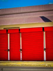 Red shutters (Rhodentette) Tags: morn