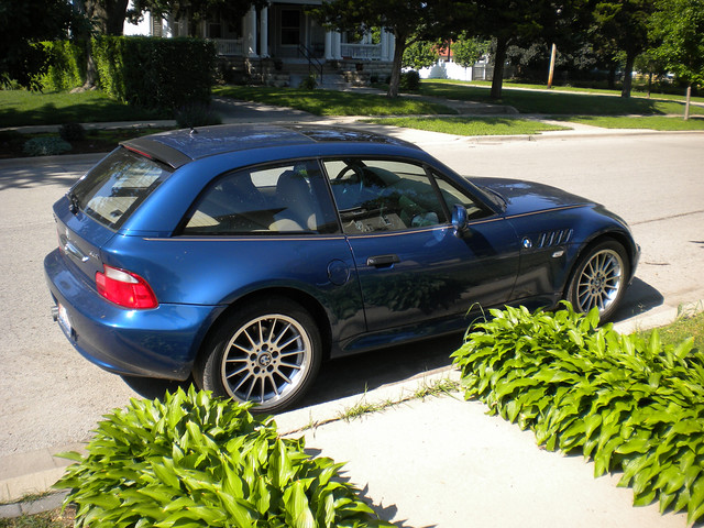 2001 Z3 Coupe | Topaz Blue | Beige | Chicago Craigslist