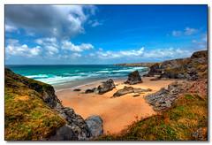 Bedruthan Steps, Cornwall (rjt208) Tags: sea england southwest coast rocks cornwall coastline cornish kernow bedruthan bedruthansteps cornishcoast rjt208 mygearandme