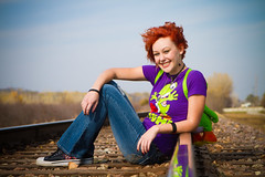 Senior Photo Railroad