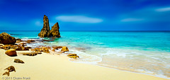 Cupecoy Blues (Explored) (jetrated) Tags: seascape beach landscape sintmaarten cupecoy