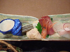 富山の海の幸を堪能中