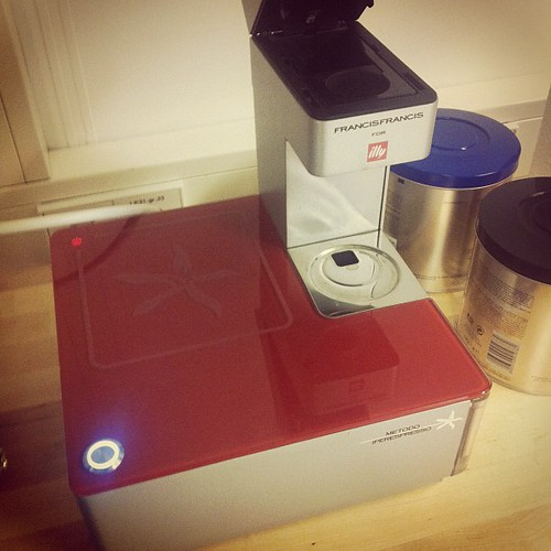 Epic iPhone Illy coffee maker