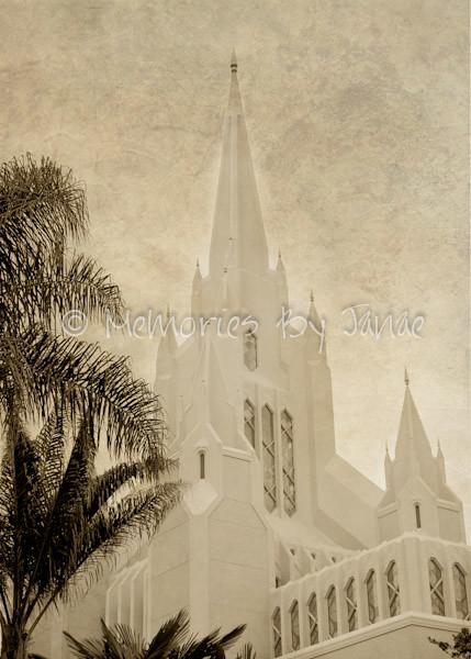 San Diego1 Vintage LDS Temple Prints -