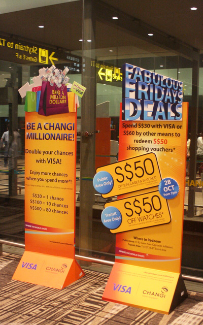 Promos at Changi Airport