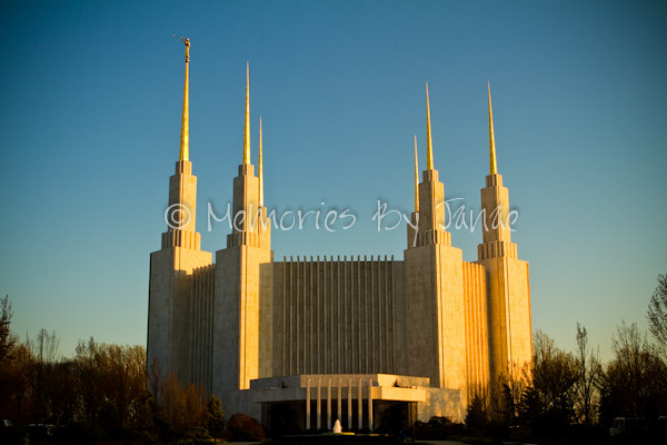 Washington D.C. Vintage LDS Temple Prints -2