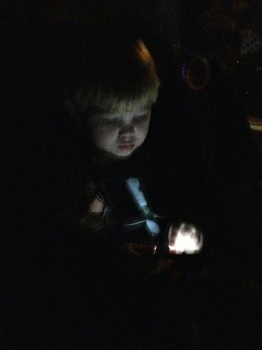 Playing games in the dark