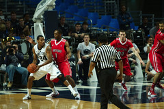 Cameron Woodyard Looks to Pass (acaben) Tags: basketball pennstate collegebasketball ncaabasketball psubasketball pennstatebasketball edhightower cameronwoodyard